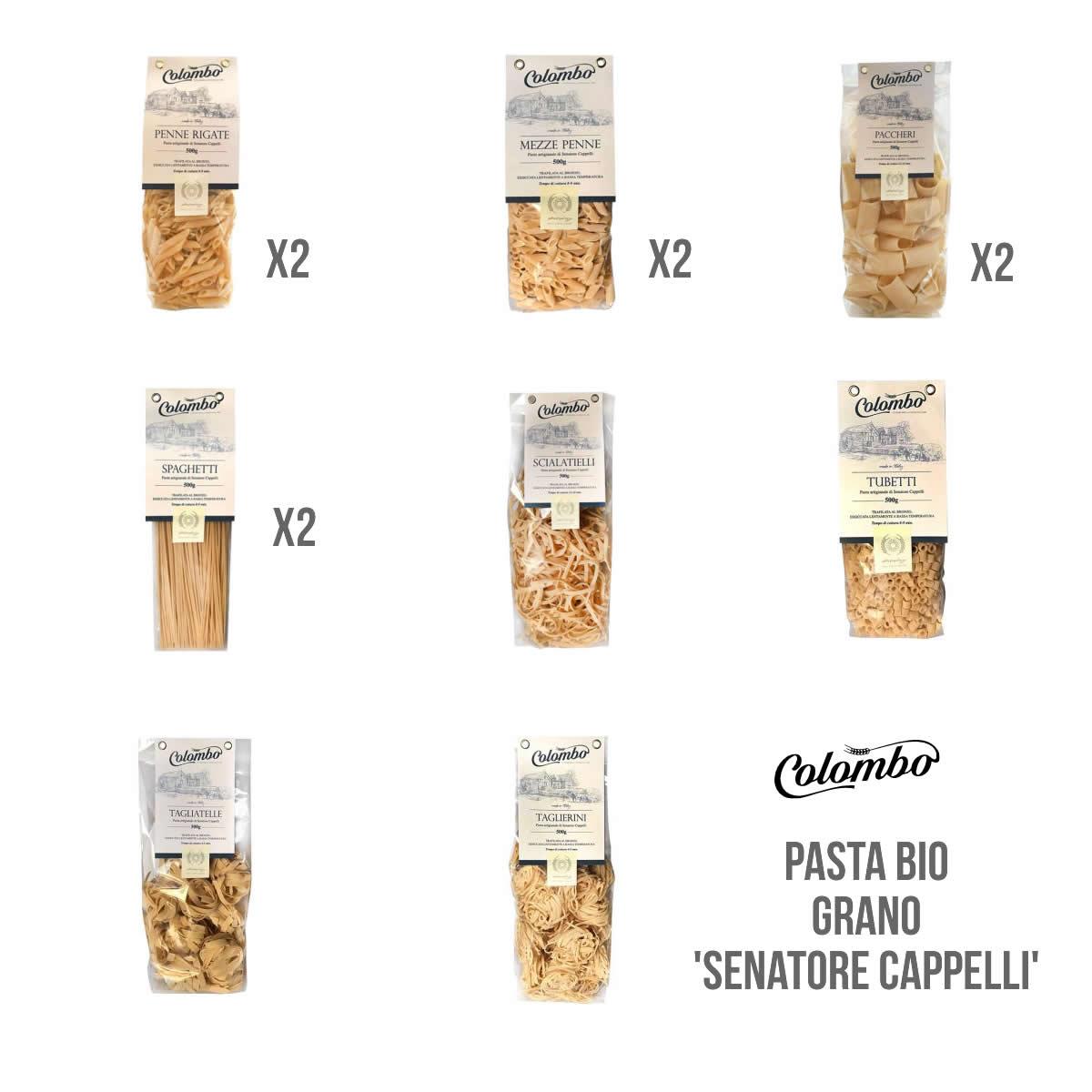 pack 12 pasta bio senatore cappelli